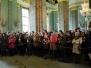 Акция памяти Журавли 224 в Петропавловской крепости 12 марта 2016 года